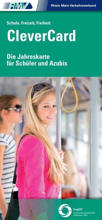 CleverCard - Kreisverkehrsgesellschaft Offenbach mbH