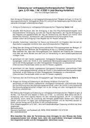 Job-Sharing-Verfahren - Kassenärztliche Vereinigung Hessen