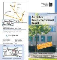 Ärztlicher Bereitschaftsdienst Kassel - Kassenärztliche Vereinigung ...