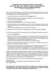 4.2_Ärzte_MVZ Anstellung mit LB - Kassenärztliche Vereinigung ...