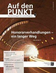 Auf den Punkt Ausgabe 6-2013 - Kassenärztliche Vereinigung Hessen