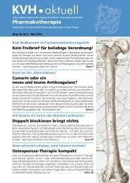 KVH•aktuell - Kassenärztliche Vereinigung Hessen