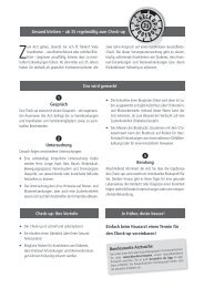 Gesund bleiben -Vorsorge Check-up 35 - KVHH