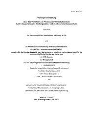 Prüfungsvereinbarung über das Verfahren zur Prüfung der ...