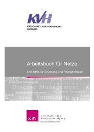 Arbeitsbuch für Netze - Kassenärztliche Vereinigung Hamburg
