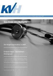 Das Ende des Budgets - KVHH