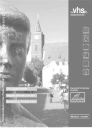 Zweiter Bildungsweg Schulabschluss Grundbildung - VHS ...