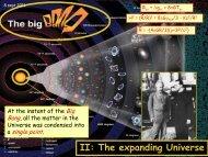 II: The expanding Universe . .. - KVI
