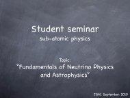 """""""Fundamentals of Neutrino Physics and Astrophysics"""" - KVI"""