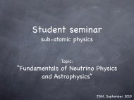 """Fundamentals of Neutrino Physics and Astrophysics"" - KVI"