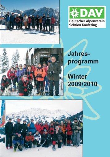 Einestarke Verbindung... - Deutscher Alpenverein Sektion Kaufering