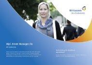 Dipl. Event Manager/in inkl. Sponsoring - KV Luzern