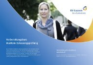 Detailbroschüre MarKom Vorbereitungskurs - KV Bildungsgruppe ...