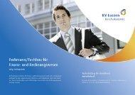 Detailbroschüre für Fachleute im Finanz- und Rechnungswesen
