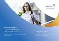 Detailbroschüre Sachbearbeiter/in Sozialversicherungen - KV ...