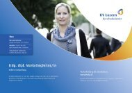 Detailbroschüre eidg. dipl. Marketingleiter/in - KV Bildungsgruppe ...