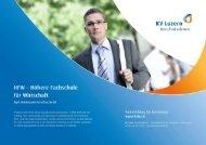 Detailbroschüre HFW - KV Bildungsgruppe Schweiz