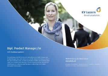 Detailbroschüre Produktmanager/in