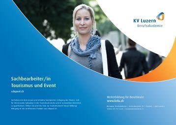 Sachbearbeiter/in Tourismus und Event - KV Luzern