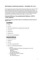 RKI-Ratgeber Infektionskrankheiten – Merkblätter für Ärzte ...