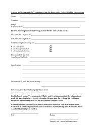 Formblatt Antrag auf Zulassung Vertragsarzt
