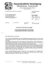 Rundschreiben Nr. 06/2006 - Kassenärztliche Vereinigung ...