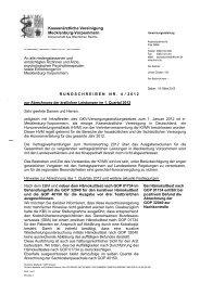 Rundschreiben Nr. 04/2012 - Kassenärztliche Vereinigung ...