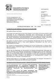 Rundschreiben Nr. 20/2008 - Kassenärztliche Vereinigung ...