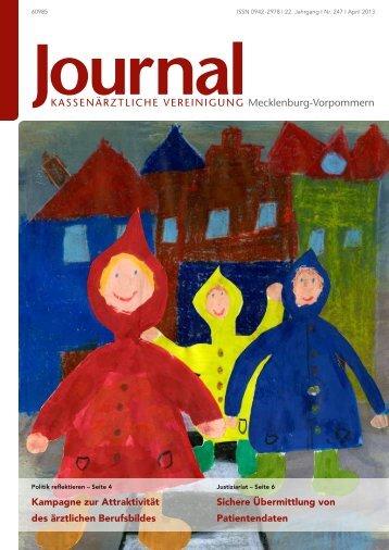 Journal der KVMV - Kassenärztliche Vereinigung Mecklenburg ...