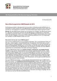 Informationen zu BtM-Rezepten - Kassenärztliche Vereinigung ...