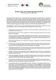 Erläuterungen zum Verletzungsartenverzeichnis