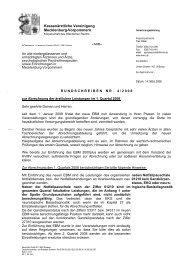 Rundschreiben Nr. 04/2008 - Kassenärztliche Vereinigung ...