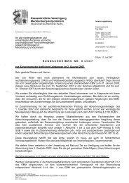 Rundschreiben Nr. 08/07 - Kassenärztliche Vereinigung ...