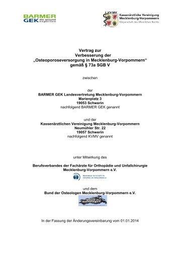 199 kB - Kassenärztliche Vereinigung Mecklenburg-Vorpommern