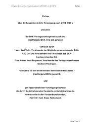 Hausarztzentrierte Versorgung nach § 73b SGB V - BKK-LV