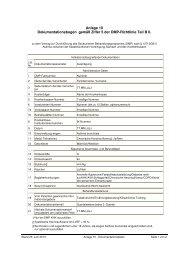 Anlage 10 - Dokumentationsbogen - Kassenärztliche Vereinigung ...