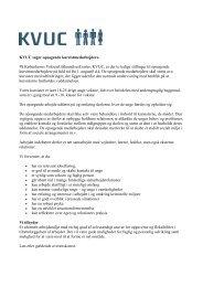 KVUC søger opsøgende kursistmedarbejdere. På Københavns ...