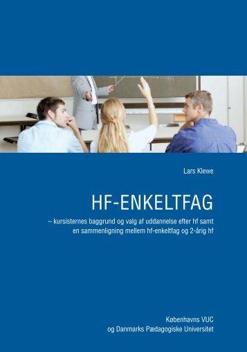 HF-ENKELTFAG - KVUC