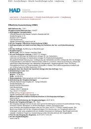 Lieferung und Montage von elektrischen Analegn für 4 ...