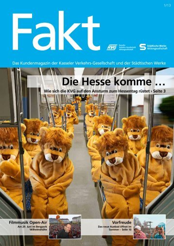 Die Hesse komme … - Kasseler Verkehrs- und Versorgungs-GmbH