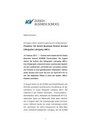 BILI - KV Zürich Business School