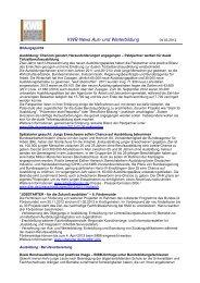 KWB-News Aus- und Weiterbildung - Kuratorium der Deutschen ...