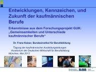 Dr. Franz Kaiser - Kuratorium der Deutschen Wirtschaft für ...