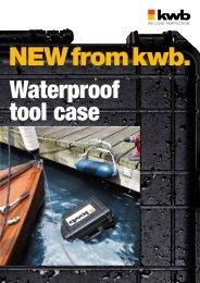 Waterproof tool case - kwb