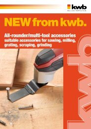 kwb All-rounder / multi-tool accessories