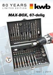 Max-Box, 67-delig - kwb