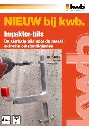 Impaktor-bits - kwb