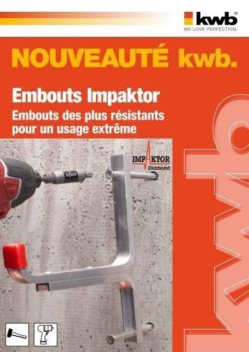 kwb Embouts Impaktor