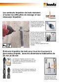 kwb Embouts Impaktor - Page 2
