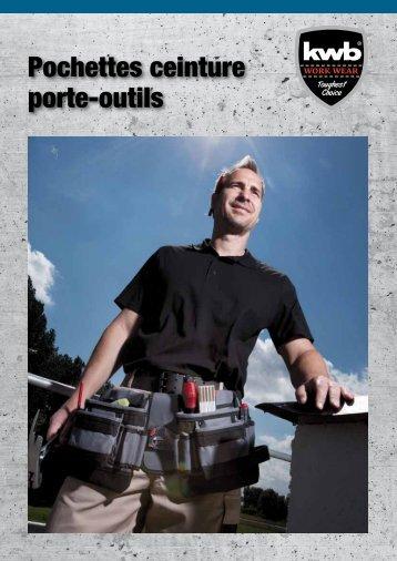 kwb Pochettes ceinture porte-outils